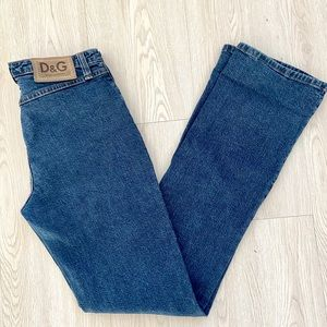 Authentic Dolce & Gabbana Vintage Straight Jeans